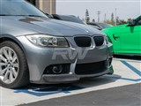 BMW E90/E91 CF Front Lip for M3 Style Bumper /