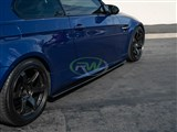 BMW E92 M3 Carbon Fiber Side Skirt Extensions /