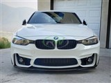 BMW E92/F30 M Style CF Front Splitter /