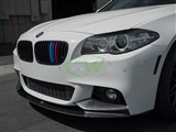 BMW F10 Performance Style CF Front Lip Spoiler /