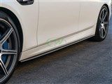 BMW F10/F11 CF Performance Style Side Skirts /