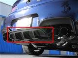 BMW F06 F12 F13 M6 Carbon Fiber Center Diffuser /