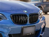 BMW F22/F23 Double Slat Gloss Black Grilles /