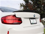 BMW F22/F87 Exotics Tuning Style CF Trunk Spoiler /