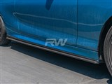 BMW F22 F23 Carbon Fiber Side Skirt Extensions
