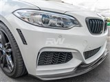 BMW F22 F23 Exotics Style CF Front Lip Spoiler /