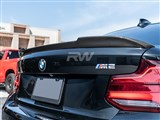 BMW F22 F87 CS Style Carbon Fiber Trunk Spoiler /