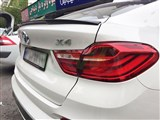 BMW F26 X4 Performance Style CF Trunk Spoiler