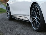 BMW F30 F31 Carbon Fiber Side Skirt Extensions /