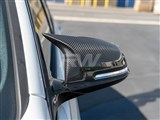 BMW F22/F30/F32 M Styled Carbon Fiber Mirror Caps /