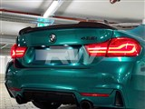 BMW F32 CS Style Carbon Fiber Trunk Spoiler
