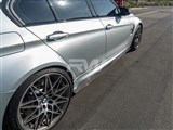 BMW F80 M3 GTX Carbon Fiber Side Skirt Extensions /