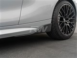 BMW F87 M2 Carbon Fiber Side Skirt Winglets /