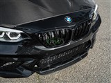 BMW F87 M2 Center Carbon Fiber Front Lip Spoiler /