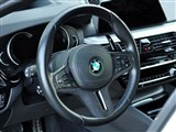 BMW Carbon Fiber Alcantara Vented Steering Wheel Trim /