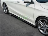 Mercedes CLA250/CLA45 CF Side Skirt Extensions /