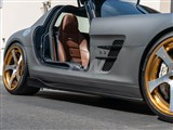 Mercedes SLS Renn Style CF Side Skirt Extensions /