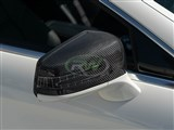 Mercedes Carbon Fiber Replacement Mirror Covers /