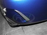 Mercedes W205 C63 CF Rear Bumper Splitters