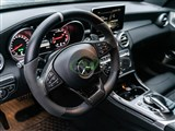 Mercedes AMG Carbon Fiber Steering Wheel Trim /