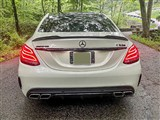Mercedes W205 XR Carbon Fiber Trunk Spoiler /