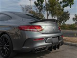 Mercedes W205 Coupe GTX CF Trunk Spoiler
