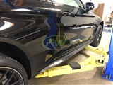 Mercedes W205 C63 Coupe Carbon Fiber Side Skirts