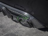 Mercedes W205/W212 Carbon Fiber Exhaust Tips /