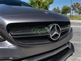Mercedes W205 C43/C63 Carbon Fiber Replacement Grille /