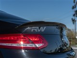 Mercedes W205 Coupe ED1 V2 Style CF Trunk Spoiler /