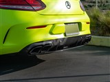 Mercedes W205 Coupe OEM Style CF Diffuser Pkg /
