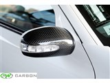 Mercedes Benz W211 Dry Carbon Fiber Mirror Covers /