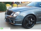 Mercedes W211 E63 AMG Godhand Style Front Lip /