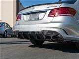 Mercedes W212 E63 Facelift BRS Style CF Diffuser /