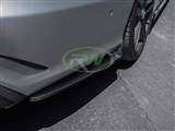 Mercedes W212 E63 14+ CF Rear Bumper Splitters /