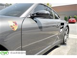 Porsche 997 Dry Carbon Fiber Mirror Covers /