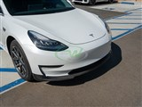 Tesla Model 3 Carbon Fiber Front Lip Spoiler /