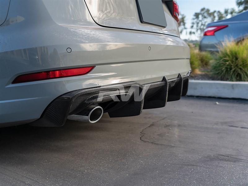 Audi 8v A3/S3 DTM Carbon Fiber Rear Diffuser