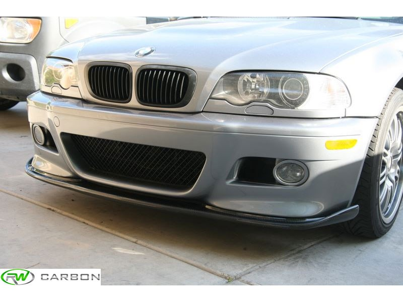 BMW E46 M3 Hamann Style Carbon Fiber Lip Spoiler