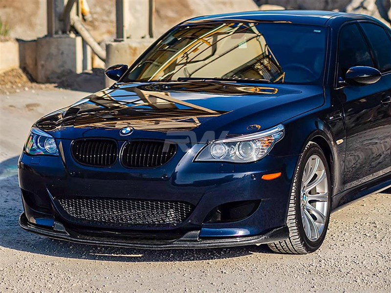 BMW E60 M5 Carbon Fiber Hamann Style Lip from RW carbon