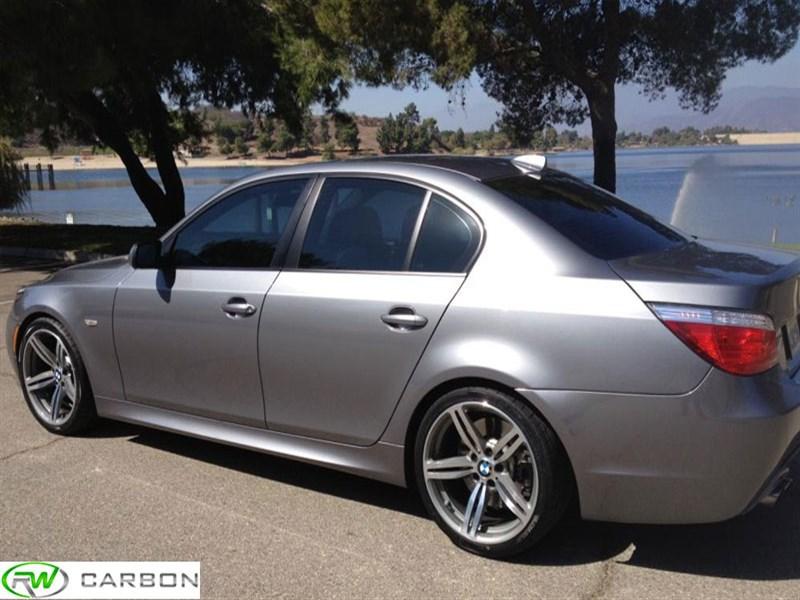 BMW E60 5 Series M5 Style Side Skirts 525i 528i 530i 535i 545i 550i