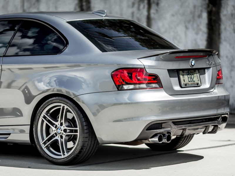 BMW E82 E88 Performace Style Carbon Fiber Diffuser get yours from RW Carbon