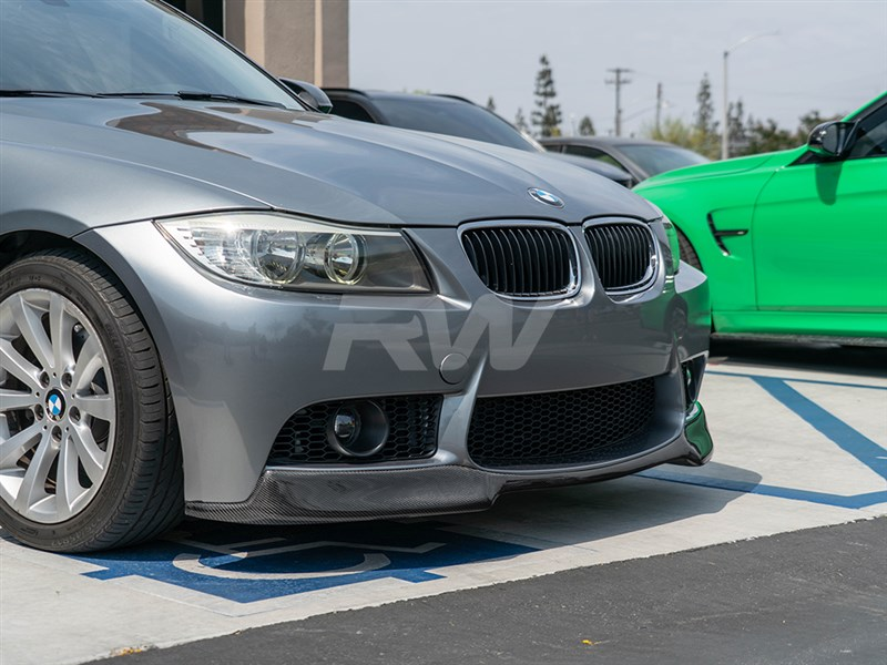 Choose the popular bmw carbon fiber front lip for M3 front bumper for your E90
