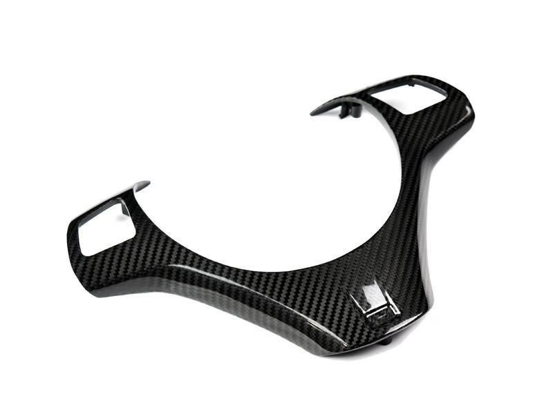 Bmw E90 E92 E93 M3 And E82 1m Carbon Fiber Steering Wheel Trim