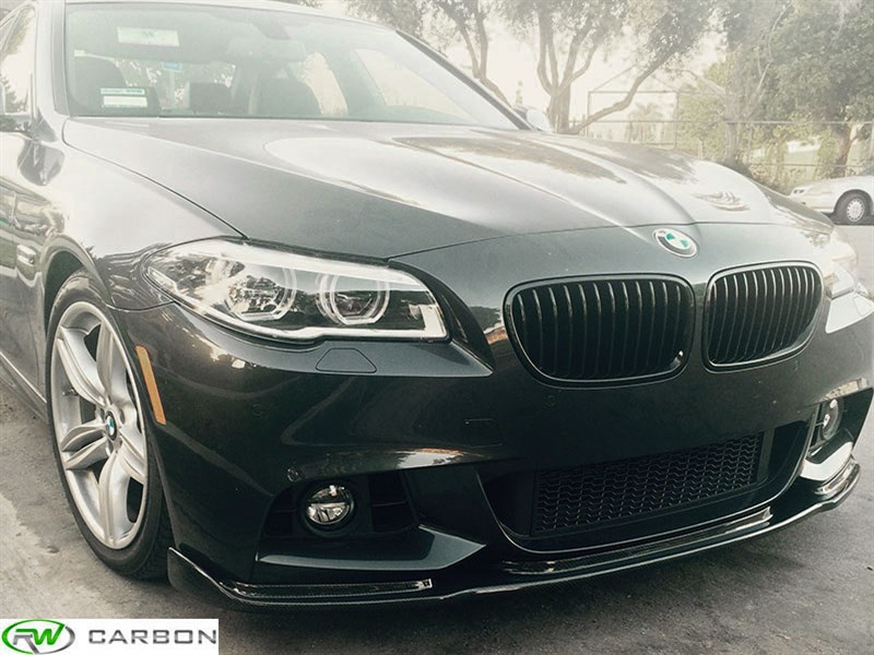 Click to view the F10 M Tech Hamann Style Carbon Fiber Front Lip