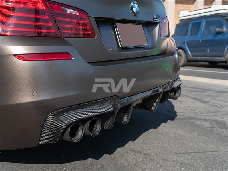 The RW Carbon BMW F10 M5 DTM Diffuser is one high quality peice