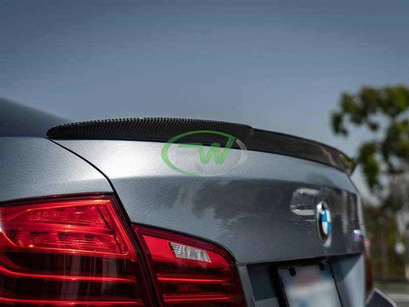 Check out the new Arkym style trunk spoiler for the BMW F10