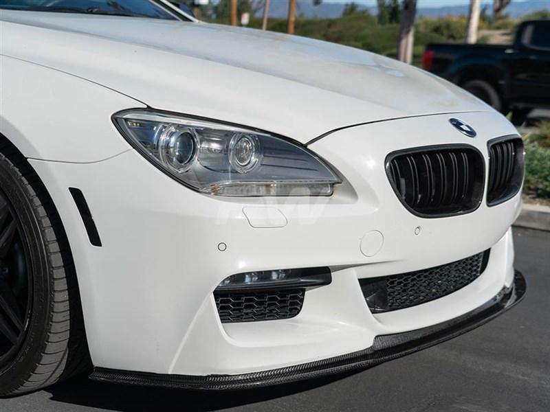 BMW F06 F12 F13 RWS Carbon Fiber Front Lip