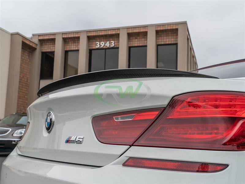 BMW F06 F13 Performance Style Carbon Fiber Trunk Spoiler