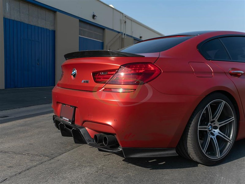 Check out our new GTX carbon fiber diffuser for the F12 F13 and F06 M6
